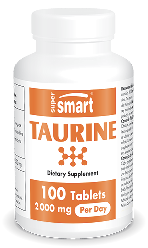 Taurine 1000 mg Nutritional Supplement | Multiple Benefits