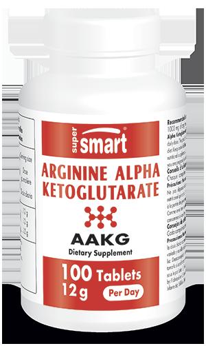 Arginine Alpha Ketoglutarate Supplement (AAKG) 1000 mg | GMO & Gluten Free | Increase Desire - Libido Booster - for Muscle Activity | 100 Tablets - Su