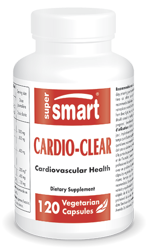 Cardio-Clear - EDTA | Made in USA | GMO & Gluten Free | Cardiovacular Health - Detox Diet - with Bromelain Supplement | 120 Vegetarian Capsules - Supe