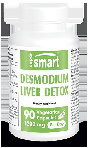 Desmo Forte™ | GMO & Gluten Free | Desmodium Adscendens - Liver Health Supplements - Allergy Control | 250 ml / 125 g - Supersmart