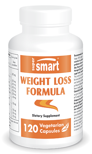 Best Weight Loss Formula | Made in USA | GMO & Gluten Free | Natural Appetite-Suppressant Supplement | 120 Vegetarian Capsules - Supersmart