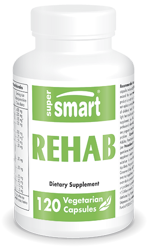 Rehab Supplement | Made in USA | GMO & Gluten Free | Alcohol Detox - Liver Function - Hangover Pills | 120 Vegetarian Capsules - Supersmart