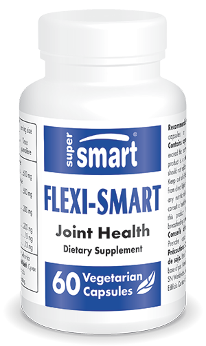 Flexi-Smart | Made in USA | GMO & Gluten Free | Joint Pain Relief - Anti Inflammatory Supplement | 60 Vegetarian Capsules - Supersmart