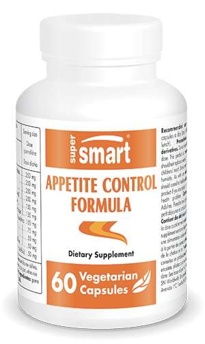 Appetite Control Formula | Made in USA | GMO & Gluten Free | Appetite Suppressant - Weight Loss Supplements | 60 Vegetarian Capsules - Supersmart