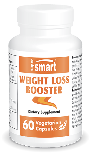 Weight Loss Booster | GMO & Gluten Free | Weight & Visceral Fat Loss - Promote Satiety | 60 Vegetarian Capsules - Supersmart