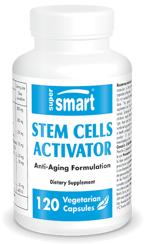 Stem Cells Activator | Made in USA | GMO & Gluten Free | Support Immune System - Health & Longevity Supplement | 120 Vegetarian Capsules - Supersmart