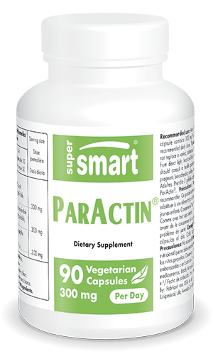 Paractin® 300 mg Per Day | Made in USA | GMO & Gluten Free | Herbs for Respiratory Health - Boost Immune System | 90 Vegetarian Capsules - Supersmart
