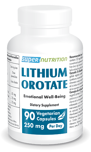 Lithium Orotate 125 mg