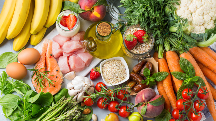 The anti-hypertension DASH diet rich in fruit and vegetables